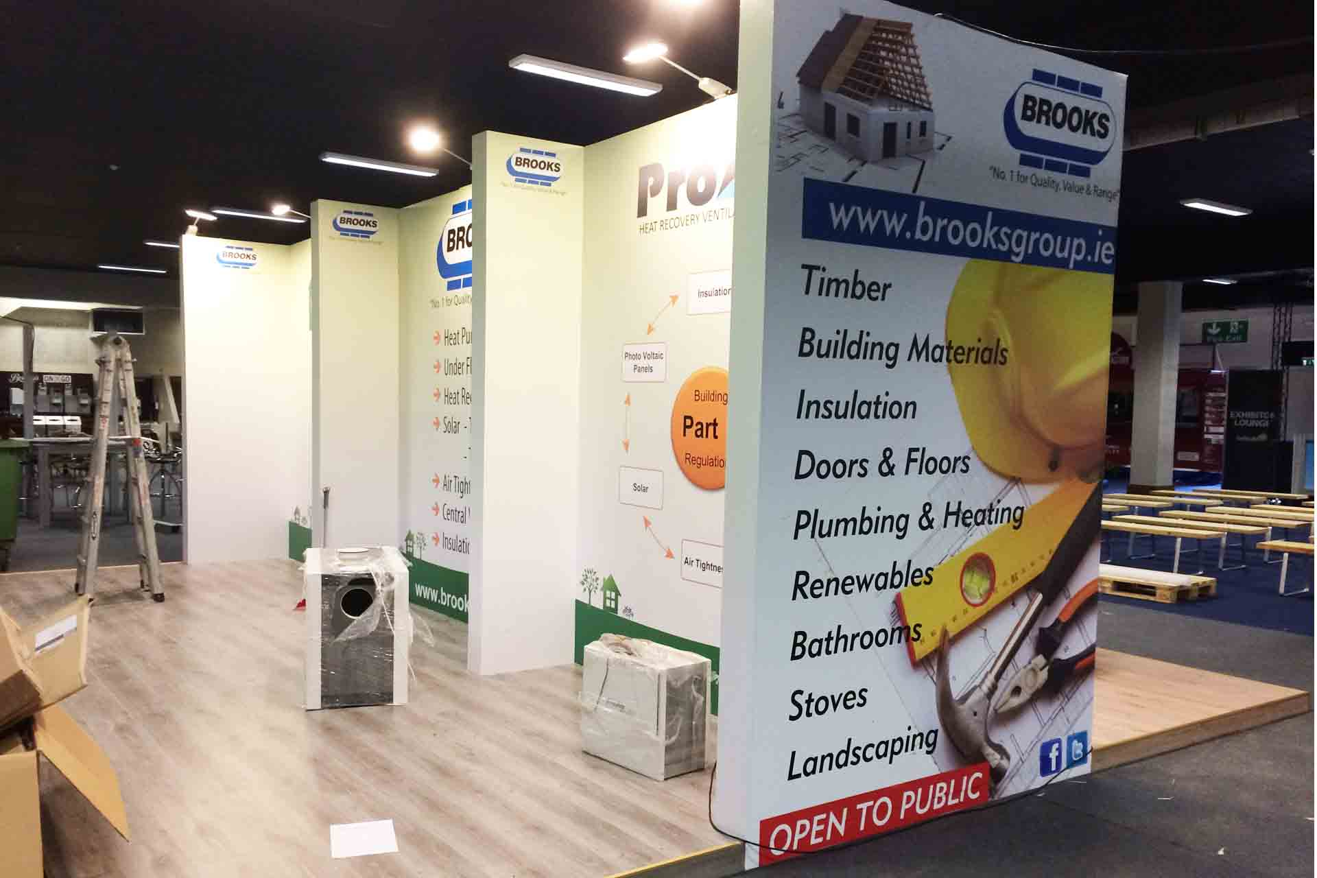 Exhibition Stand Wall : Exhibition displays
